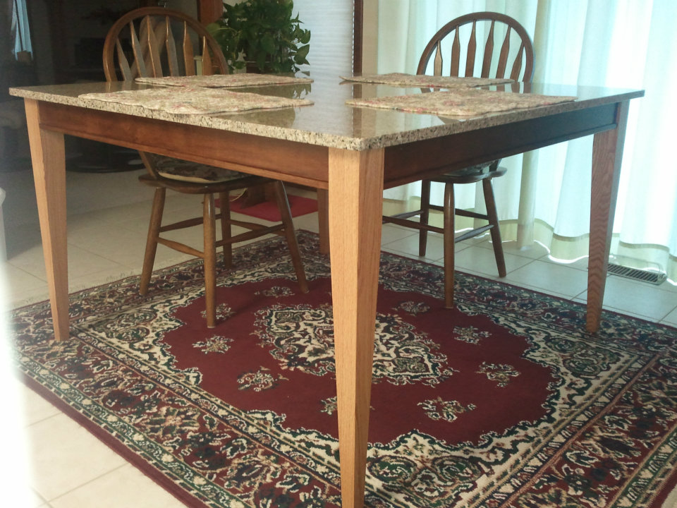 Osborne Wood Products Blog-Beautiful Dining Table Supported ...