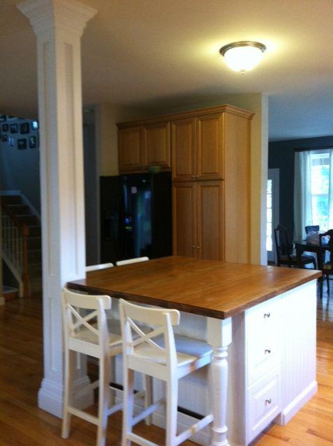 Osborne Wood Products Blog-Beautiful White Kitchen Island to ...