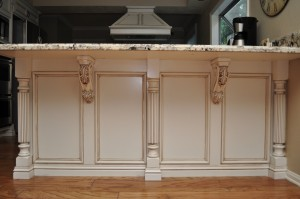 Osborne Wood Products Blog Reeded Island Posts And Acanthus Leaf Corbels