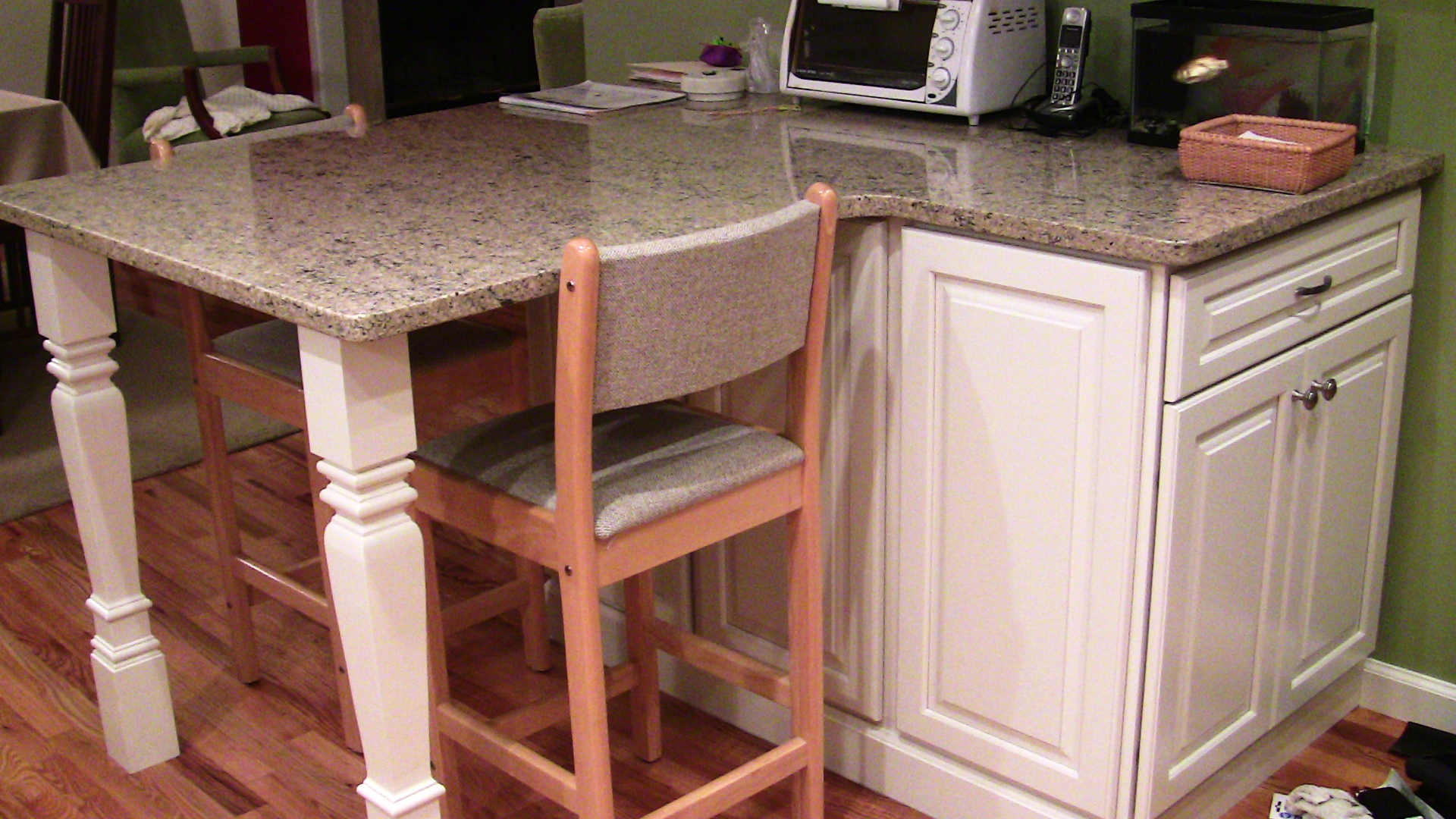 Osborne Wood Products Blog-Square Island Legs Perfect for ...